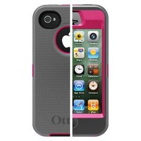 Otterbox Defender Cell Phone Case for iPhone®4/4S - Pink (77-18748P1)