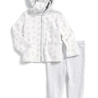 Infant Boy's Ralph Lauren Hoodie & Footed Pants