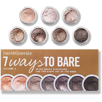 bareMinerals 7 Ways To Bare Vol 2