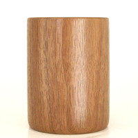 Pencil Cup Handcrafted in Walnut