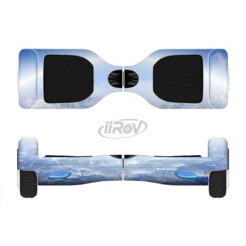 The Vivid Blue Reflective Clouds on the Horizon Full Body Skin Set for the Smart Drifting SuperCharged Transportation iiRov