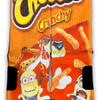 Despicable Cheetos Custom Elite Socks