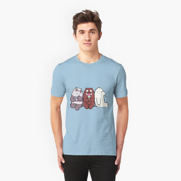 'Friendship_Panda' T-Shirt by olgador