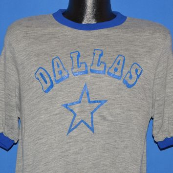 27714ce25 70s Dallas Cowboys Star Ringer t-shirt Small