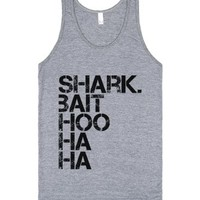 shark-Unisex Athletic Grey Tank