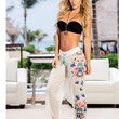 Sheer Beach Pants-Swimwear Cover Up