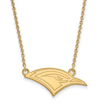 NCAA 10k Yellow Gold U of Tennessee at Chattanooga Sm Pendant Necklace