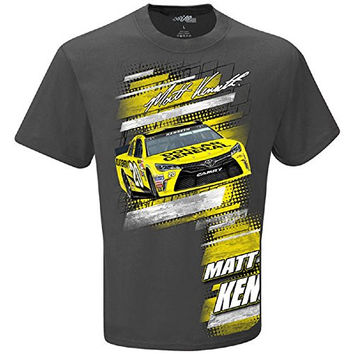 Matt Kenseth Racing Team Collection Slingshot T-Shirt - Charcoal (Large)