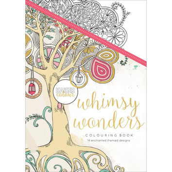 Kaiser Colour Whimsey Wonders Adult Coloring Book