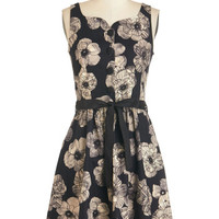 ModCloth Mid-length Tank top (2 thick straps) A-line Roomie Reunion Dress
