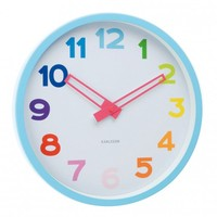 Karlsson Splash Over the Rainbow Wall Clock - Clocks - Wall Decor - Accessories | Occa-Home.co.uk