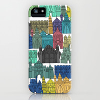 castle avenue day iPhone & iPod Case by Sharon Turner