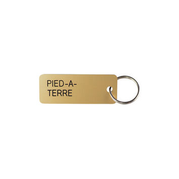 Pied A Terre Key Tag