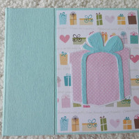 6x6 Wedding Shower Scrapbook Photo Album