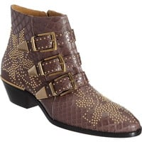 Chloé Python Susan Studded Ankle Boot at Barneys New York at Barneys.com