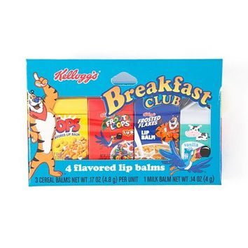 Kellogg's Breakfast Club Flavored Lip Balms Set of 4 | Claire's