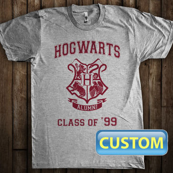 Hogwarts Alumni Class of Custom T-Shirt Harry Potter