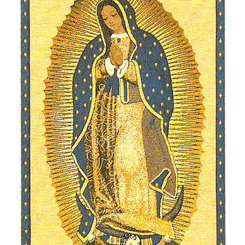 La Virgen De Guadelupe European Wall Hangings