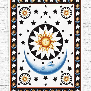 #a Mandala  Indian Boho Wall Carpet square Beach towel  Tapestry Rug  Beach mat  china style  Cape  star