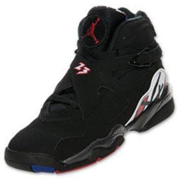 Boys  Grade School Air Jordan Retro 8 Basketball Shoes 9e1b5637b2