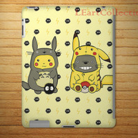 My Neighbor Pokemon 3D Hardshell case for iPad Mini, iPad 2, iPad 3, iPad 4, iPad Air