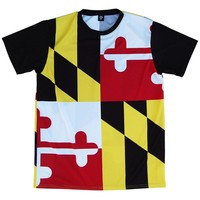 Maryland Flag Shooter Shirt