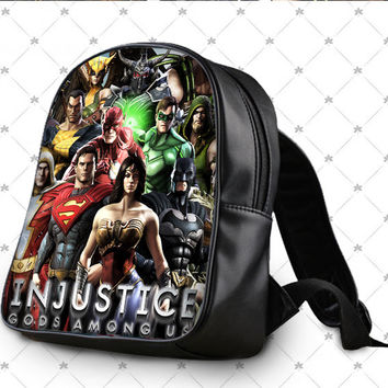injustice gods among us School Bag