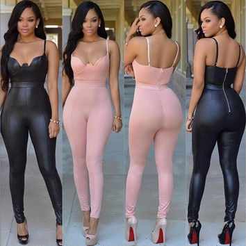 Sexy Women Ladies Summer Clubwear Playsuit Party Jumpsuit&Romper Long Trousers [9714859727]