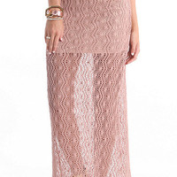 Kirra Crochet Maxi Skirt at PacSun.com