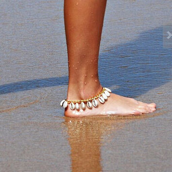 Shiny Sexy Stylish Jewelry Gift New Arrival Cute Ladies Accessory Alloy Tassels Bracelet Sea Beach Hot Sale Anklet [9693124045]