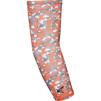 LMFYF3 Easton Compression Arm Sleeve - Orange Camo