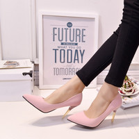 Summer Sexy Pointed Toe High Heel Shoes [8865972940]