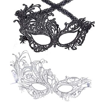 Party Masks Women Sexy Lace Mask Easter Party Festival Cosplay Supplies European & American Style Seductive Halloween Mask Adult