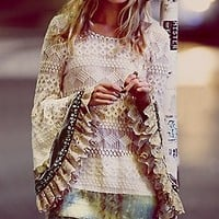 Gypsy Junkies  Embellished Mimi Tunic at Free People Clothing Boutique