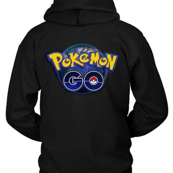 VONEED6 Pokemon Go Art Cover Hoodie Two Sided