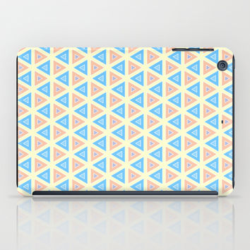 Triangles Mosaic Art iPad Case by Cinema4design