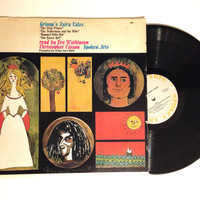 OCTOBER SALE Rare Vinyl Record Grimm's Fairy Tales LP Album Eve Watkinson Christopher Casson The Frog Prince