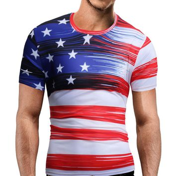 American Stars and Strips T-shirt - Show your American Patriotic Pride