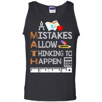Funny Math Teacher Gifts Math Lover  Gifts Tank Top