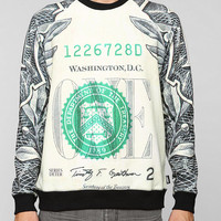 Deter Dollar Bill Pullover Sweatshirt - Urban Outfitters
