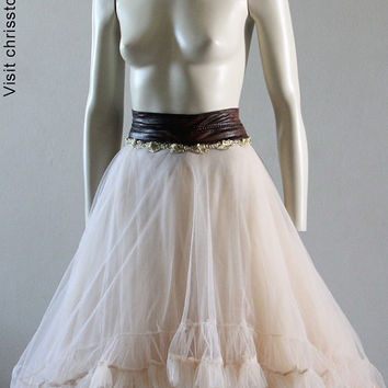 Tutu Steampunk Wedding Tulle Tutu Ballet Skirt Bridal Wedding Black Swan Lady Gaga Bridal Chrisst Unique Fashion