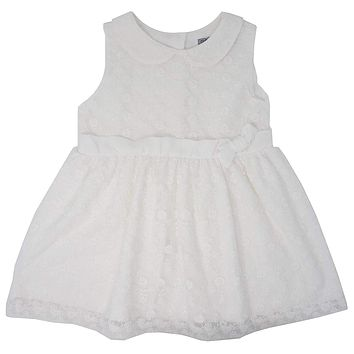 Baby Girl Cute Party Lace Dress with Ribbon for Special Occasion