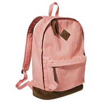 Mossimo Supply Co. Polka Dot Backpack Handbag - Pink