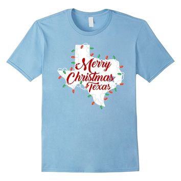 Merry Christmas Y'all Funny Shirt Texas Christmas US Country