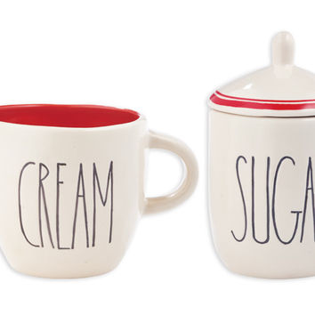 Sugar and Cream Set by Rae Dunn