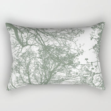 Abstract Trees Rectangular Pillow by ARTbyJWP