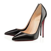 Christian Louboutin Black Kid Leather So Kate Pumps