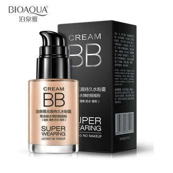 30ml Brand BIOAQUA Makeup Base Face Waterproof Liquid Foundation BB Cream Concealer Moisturizing Whitening Oil-control Cosmetics