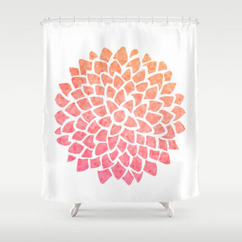 Best Dahlia Shower Curtain Products On Wanelo