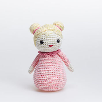 Crochet Doll, Doll Soft Toy, Girl Amigurumi, Girl Stuffed Toy, Doll Toy, Doll Amigurumi